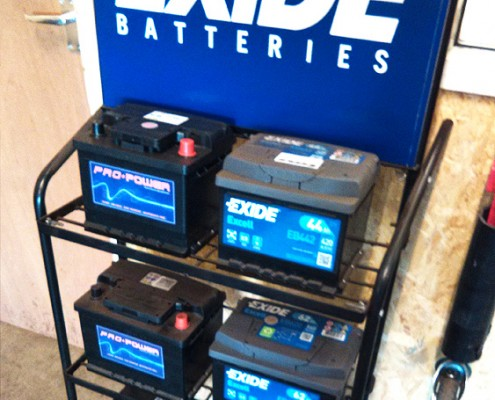 Lionheart Garage Batteries