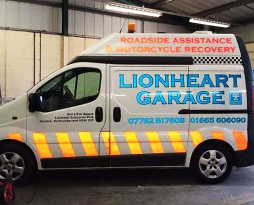 Lionheart Garage Roadside Assistance