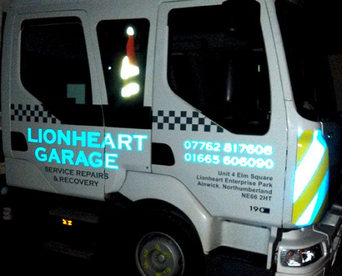 Lionheart Garage Recovery Vehicle 3